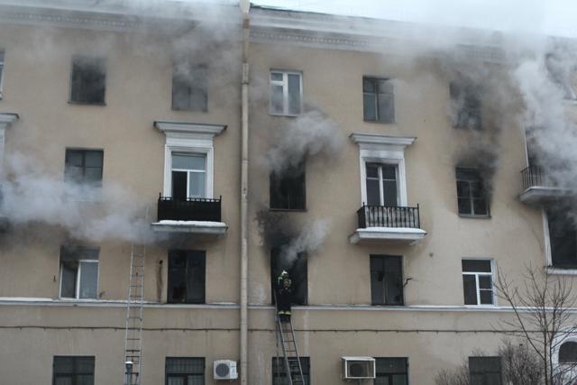 Пожар общежитие проспект Стачек 26 декабря 2012: Фото
