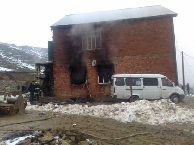Взрыв газа в доме, Дагестан, 21 декабря 2012: Фото