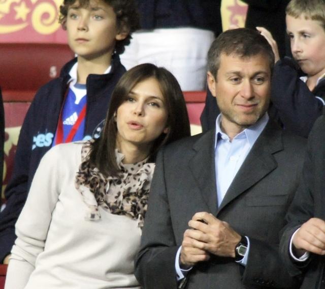 Роман Абрамович и Дарья Жукова: Фото