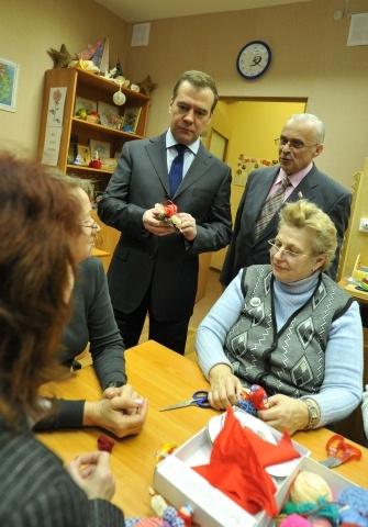 Дмитрий Медведев в Петербурге, 18 декабря 2012: Фото