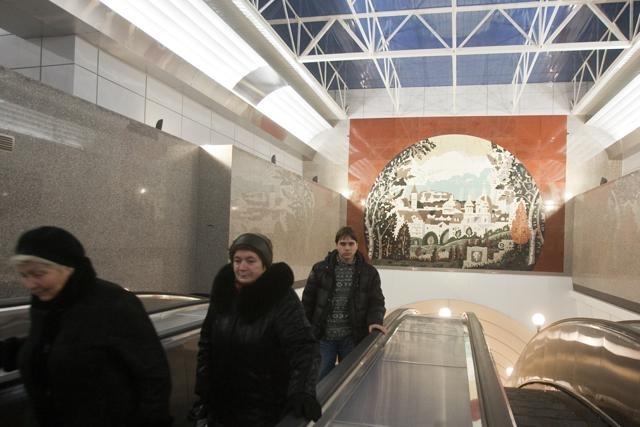 Открытие станций метро Международная и Бухарестская - фото: Фото