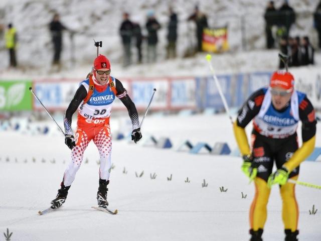 Спринт мужчины биатлон Кубок мира 2012: Фото