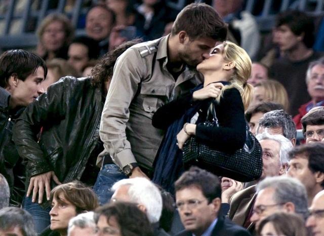 Шакира и Пике: Фото