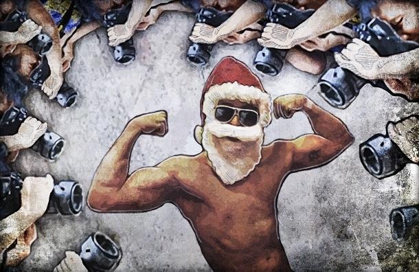 Станцуй стриптиз для мамы и выпей с папой: история о нелегком труде Деда Мороза