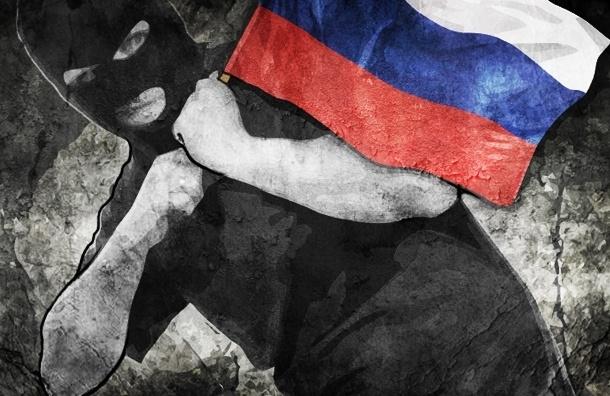 Петербуржца задержали при попытке украсть флаг России