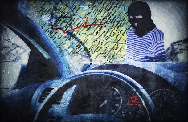 Каждая вторая угнанная машина в России приходится на Москву или Петербург