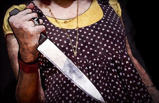 В Петербурге женщина устроила резню на улице, двое в больнице