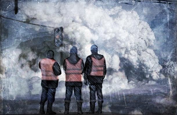 В Купчино прорвало трубу – 23 дома остались без тепла