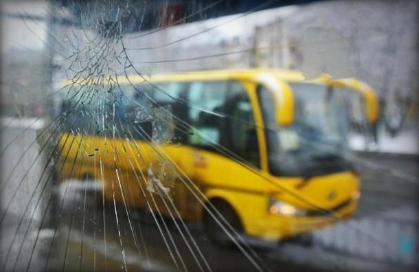В Петродворце маршрутка сбила двух дорожных рабочих