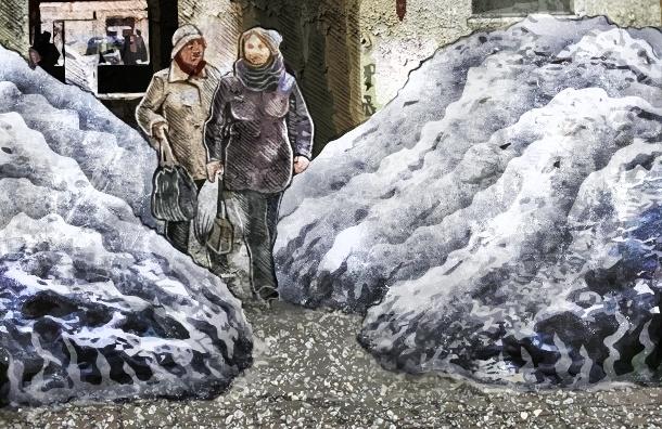Снегоуборочная техника в Петербурге как источник повышенной опасности для пешеходов и автомобилистов