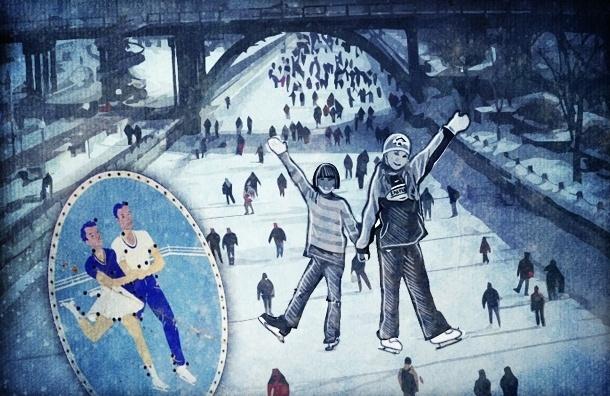 Зимние катки под открытым небом в Петербурге: все адреса