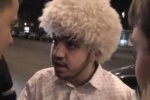 В Петербурге «Стопхамы» усмирили юного джигита в папахе