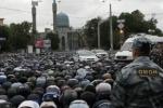 В Петербурге суд не стал запрещать празднование Курбан-Байрама у метро «Горьковская»