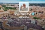 Папа Римский самостоятельно сделал первую запись в Twitter