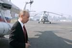 В Кремле строят вертолетную площадку для Путина