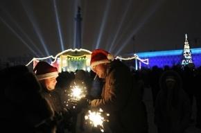 В новогоднюю ночь на Дворцовую не пустят с шампанским и пиротехникой