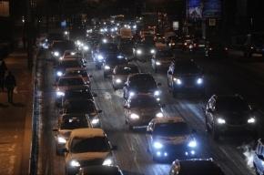 Названы дороги Петербурга, собирающие самые большие пробки