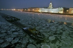 Навигация 2012 закрылась в Петербурге