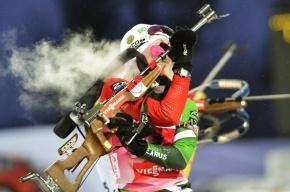Результаты биатлона 7 декабря: Домрачева победила в женском спринте