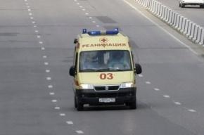 В Петербурге иномарка выехала на тротуар и сбила троих
