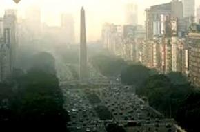 Буэнос-Айрес накрыло ядовитое облако от горящих пестицидов