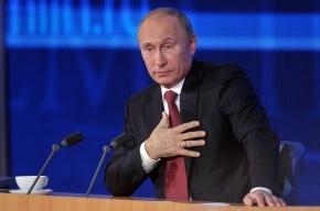 Путин пожелал Ходорковскому свободы и здоровья
