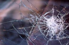 Автомобиль с полицейскими попал под КамАЗ под Петербургом