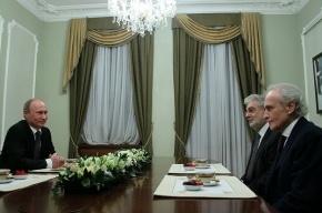 Путин выпил чаю с Пласидо Доминго и Хосе Каррерасом, но отказался идти на их концерт