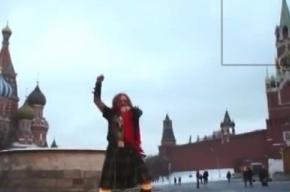 Джигурда в килте станцевал на Красной площади