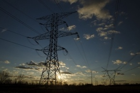 Половина Колпино осталась без электричества