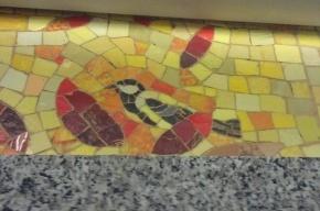 В новом метро «Бухарестская» спрятана синица
