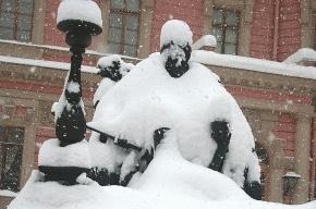 На Петроградке снег с крыши упал на ветерана
