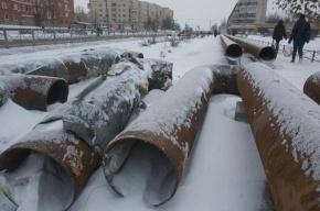 Полтавченко пообещал, что через три года прорывов труб в Петербурге не будет