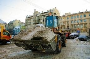 Полтавченко не нравится, как убирают снег в Петербурге