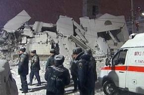 В Таганроге после обрушения дома объявили траур