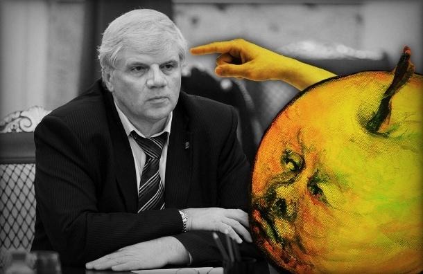 «Яблочник» просит посадить вице-спикера ЗакСа Анденко на 15 суток за мат в парламенте