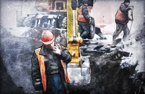 Под Петербургом рабочего закопали заживо при прокладке труб
