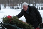Пискаревское кладбище 27 января 2013: Фоторепортаж