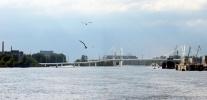 Мост через остров Серный: Фоторепортаж