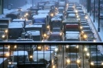 Снегопад в Москве сегодня (фото) - пробки 16 января 2013: Фоторепортаж