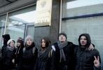 Фоторепортаж: «Пикет против закона о запрете гей-пропаганды у Госдумы»