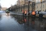 Фоторепортаж: «Разлив на Арсенальной набережной 17 января 2013»