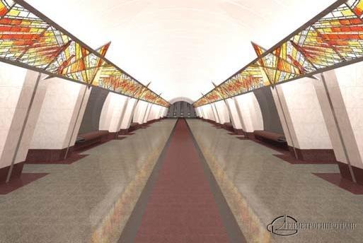 Эскизы будущих станций метро Фрунзенского радиуса: Фото