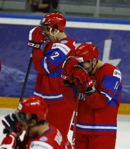 Россия - Швеция полуфинал МЧМ 2013: Фото