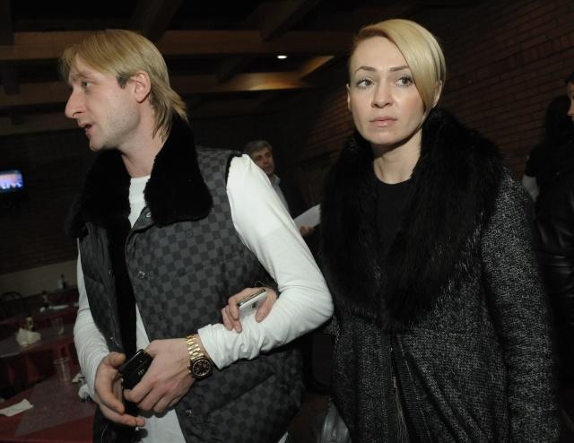 Плющенко и Рудковская: Фото
