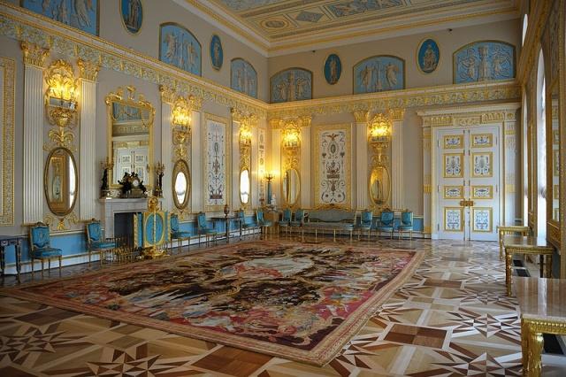 Екатерининский дворец, Пушкин, Царское Село: Фото