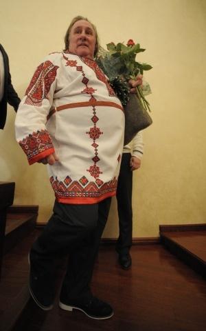 Депардье в Мордовии, Саранск: Фото
