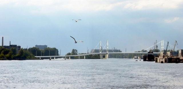 Мост через остров Серный: Фото