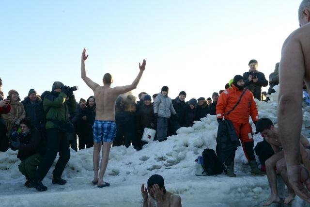 Крещение в Петербурге 2013: Фото