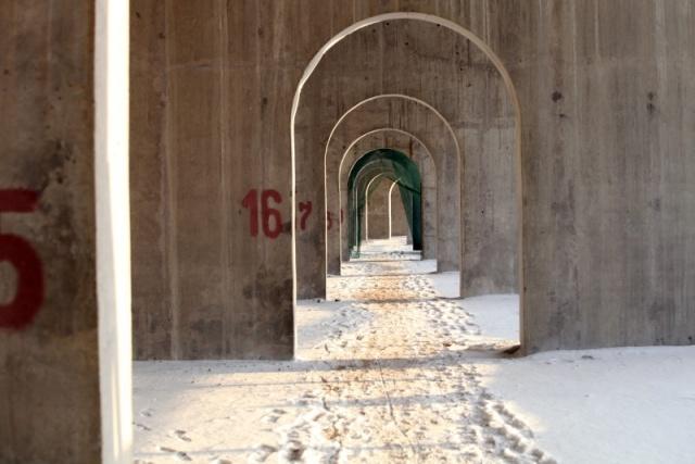 Стадион Зенит на Крестовском острове на декабрь 2012: Фото